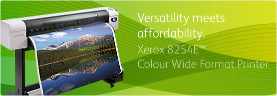 Xerox 8254E™ Colour Wide Format Printer