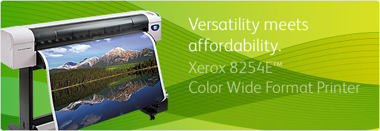 Xerox 8254E™ Color Wide Format Printer