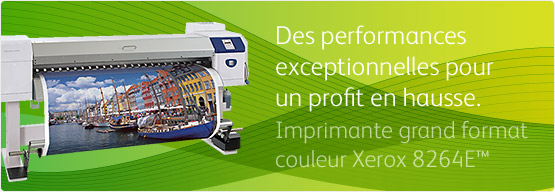 Imprimante grand format couleur Xerox 8264E™