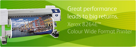 Xerox 8264E™ Colour Wide Format Printer