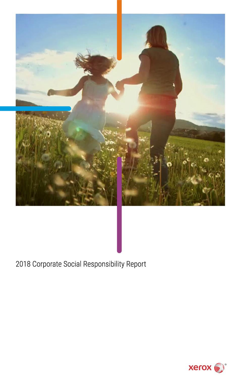 xerox corporate social responsibility