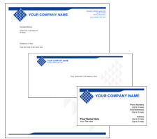 Letterhead envelope template ukrandiffusion corporate identity templates in color themes in adobe acrobat letterhead envelope template fbccfo Image collections